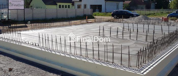 jakość wykonania płyty fundamentowej - budowa domu energooszczędnego - Finaldom