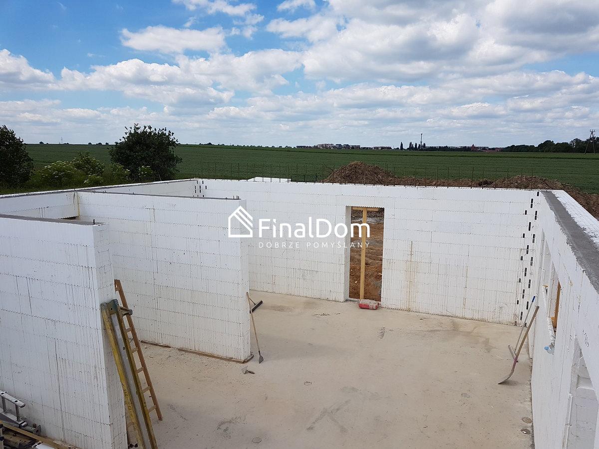 ściany systemowe przygotwane pod montaż wiązarów - Finaldom