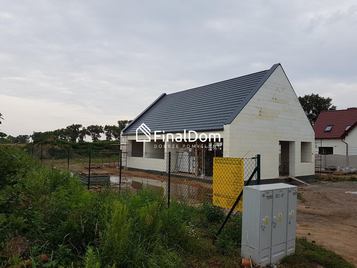 dach domu niskoenergetycznego Śnieżnik - z projektu Finaldom
