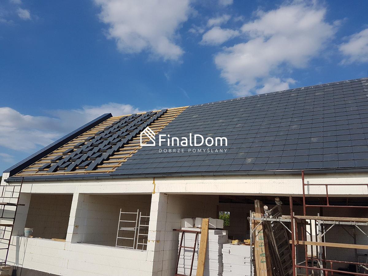dach z dachówki cementowej - Śnieżnik - Finaldom