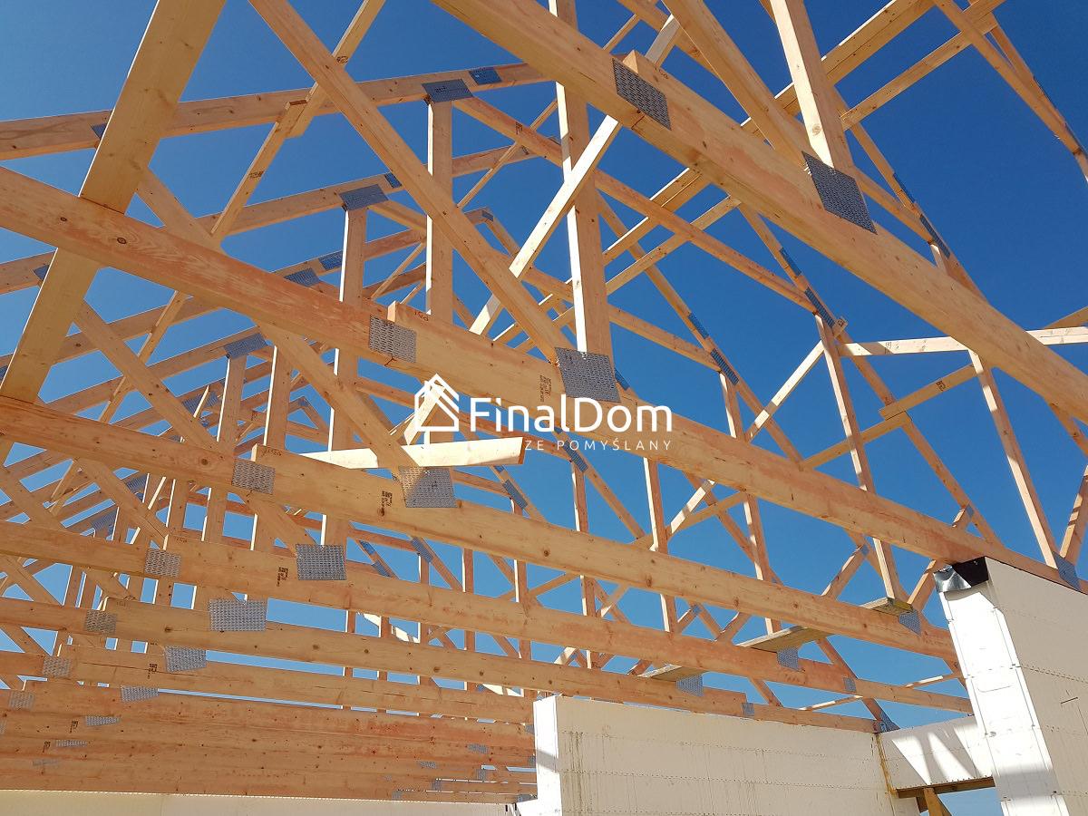 konstrukcja dachowa domu jednorodzinnego Śnieżnik - Finaldom
