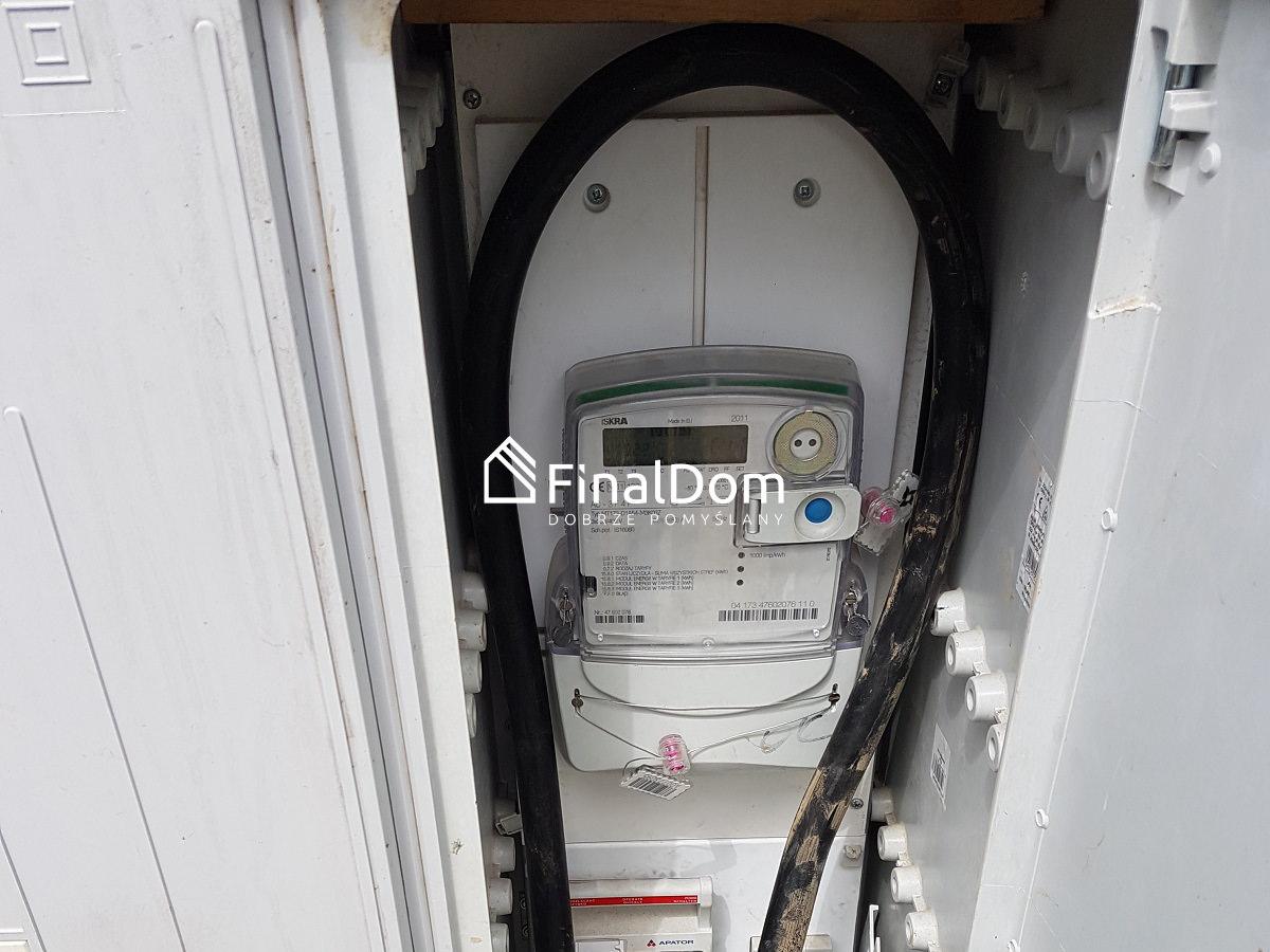 przyłącze prądu w domu jednorodzinnym Śnieżnik - Finaldom