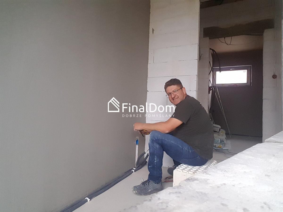 instalacja domu gotowego z projektu Śnieżnik - Finaldom